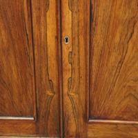 William IV Rosewood Cupboard Bookcase (5 of 9)