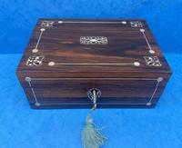 William IV Rosewood Box with Mother of Pearl Inlay (9 of 9)