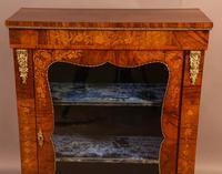 Victorian Pier Cabinet in Burr Walnut (5 of 8)