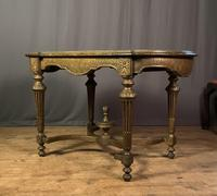 Napoleon III Giltwood Library or Sofa Table (10 of 13)