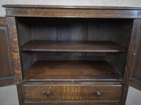Good Quality Carved Oak Tallboy / Linen Press / Wardrobe (6 of 11)