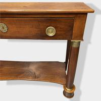 Early 19th Century French Empire Console Table (5 of 13)