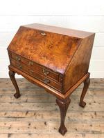 Antique Walnut Bureau (12 of 16)