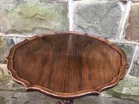 Antique Walnut Tripod Wine Table (2 of 4)
