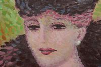René DECAMP (XX) French School  Pointillist Mid Century (5 of 6)