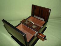 Macassar Ebony Jewellery / Trinket / Cigar Box c.1900 (11 of 11)