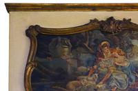 Quality Gilt Full Height Wall Trumeau Mirror c.1900 (6 of 8)