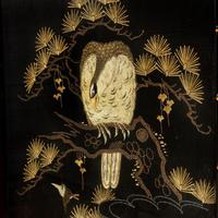 A Japanese needlework of an eagle (3 of 5)