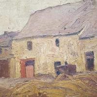 Antique Belgian Oil Painting c.1890 (3 of 4)
