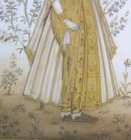 Good Pair of 19th Century Indian Paintings Aurangzeb & Dilras Banu Begum (4 of 11)