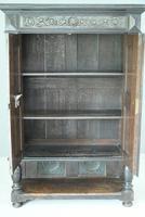Antique Large Dark Oak Cupboard (10 of 13)