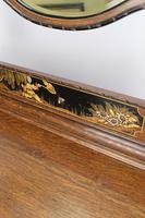 Oak Chinoiserie Dressing Chest of Drawers (7 of 13)