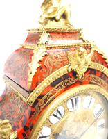 Wow! Phenomenal French Boulle Mantel Clock Rare 8-day Striking Bracket Clock Superb Condition (10 of 22)