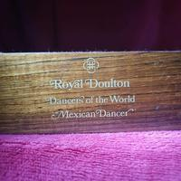 """Royal Doulton Figurine """"Dancers of the World - Mexican Dancer"""" with Original Custom Fitted Box and Certificate of Authenticity (7 of 9)"""