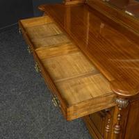 Late Victorian Mahogany Sideboard (7 of 19)