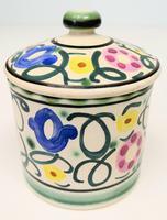 Honiton Pottery Jar 'Sweet Pea' 1930s (4 of 6)