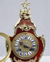 French Belle Epoque Tortoise Shell Mantel Clock by L.P Japy (3 of 8)