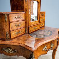 Victorian Marquetry Desk (6 of 8)