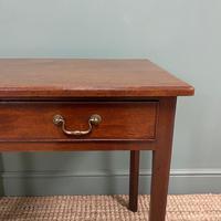 Mahogany George III Figured  Antique Side Table (5 of 5)