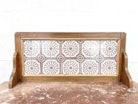 Antique Pine Tile Back Washstand (5 of 15)