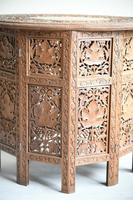 Carved Indian Side Table (9 of 12)