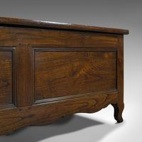 Large Antique Coffer, French, Chestnut, Window Seat, Linen Chest, Georgian, 1800 (2 of 12)