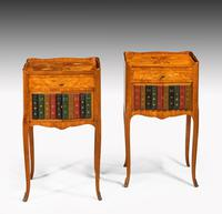 Pair of Late 19th Century Kingwood & Marquetry Night Cabinets (3 of 5)
