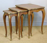 Antique French Nest of Tables Ormolu Mounts (3 of 6)