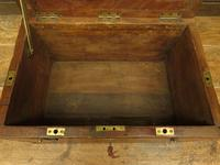 Antique Oak Chest, Early 19th Century Storage Chest for Weights, Lockable (7 of 21)