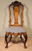 18th Century Dutch Marquetry Side Chair
