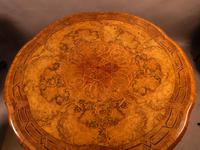 Stunning Quality Victorian Burr Walnut Centre Table Exhibition quality (6 of 15)