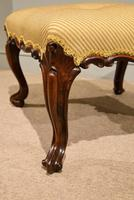 Victorian Carved Rosewood English Stool (3 of 5)