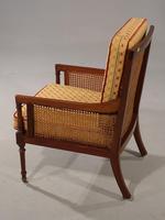 Very Good and Original Regency Period Bergère Armchair (2 of 6)