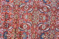 Antique Heriz square carpet 383x311cm (7 of 9)