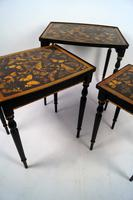 Decorated Nest of Tables (4 of 7)