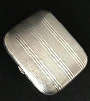 Art Deco Silver Cigarette / Card Case (2 of 4)