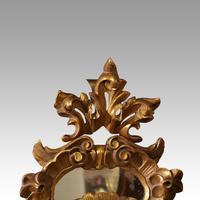 Antique Gilt Florentine Mirror (5 of 6)