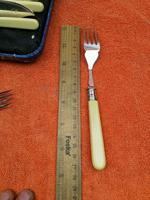 Vintage Silver Plate EPNS Fish Knife & Fork Set Cased c.1930 (5 of 8)
