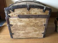 Antique Domed Wooden Sea Trunk c.1850 (10 of 13)