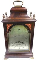 Antique Georgian Twin Fusee English Bracket Clock Verge Striking Clock by Fenwick L Shields (2 of 7)