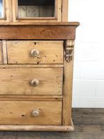 Antique Victorian Pine Dresser with Glazed Top (13 of 13)