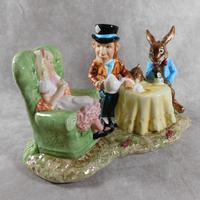 Royal Doulton, Beswick  Ware, Limited Edition, The Mad Hatter's Tea Party Tableau (3 of 12)