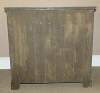 Late Victorian Satin Walnut Chest of Drawers (6 of 6)