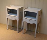 Pair of Painted Bedside Cabinets (3 of 4)