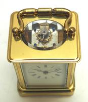 Fine Antique French 8-day Carriage Clock Timepiece - Interesting & Rare Size c.1870 (13 of 13)
