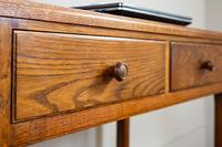 Vintage Mid Century 2 Drawer Oak Desk by Gordon Russell (11 of 14)