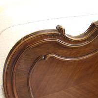 Beaded Louis XV Walnut Antique Bed (4 of 7)
