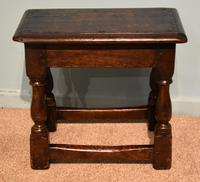 Charles II Style Oak Joint Stools (4 of 7)