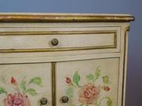 Pretty Pair of French Painted Bedside Cabinets (6 of 7)