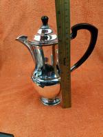 Vintage Silver Plate Coffee Pot Garrard & Co Ltd (7 of 9)